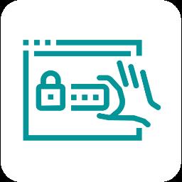 Pictogramme phishing, malware, ransomware